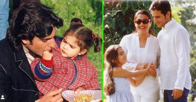 Sara's Throwback Pic With Saif & Amrita Is The Cutest Thing On The Web Today