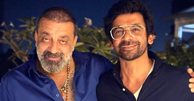 Sunil Grover Shares Image With Sanju Baba; Mentions Him As 'Legend'