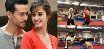 Disha-Tiger's Fans Compile Videos Of The Two Boxing Intensely; Watch