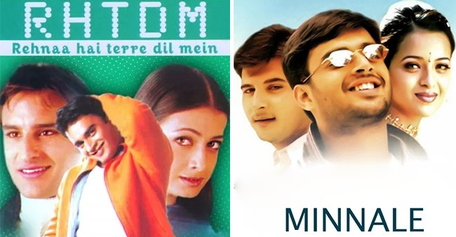 List of successful Bollywood films that are South Indian Films' remake