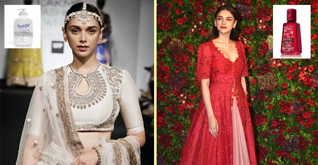 A user on Twitter makes hilarious comparison of Aditi Rao Hydari with hand sanitiser brands