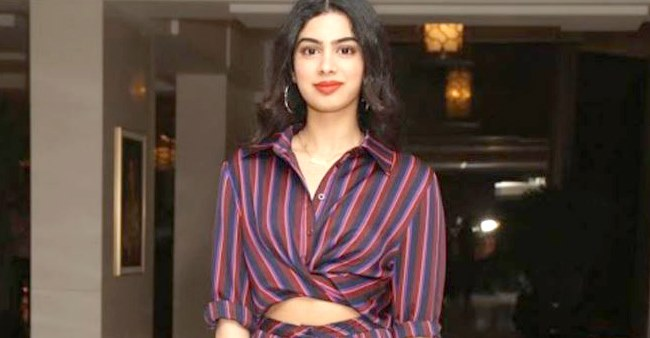 Interesting things revealed by the star kid Khushi Kapoor about herself