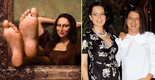 Not just Monalisa this is Kangana's mood, shares Kangana's sister Rangoli Chandel