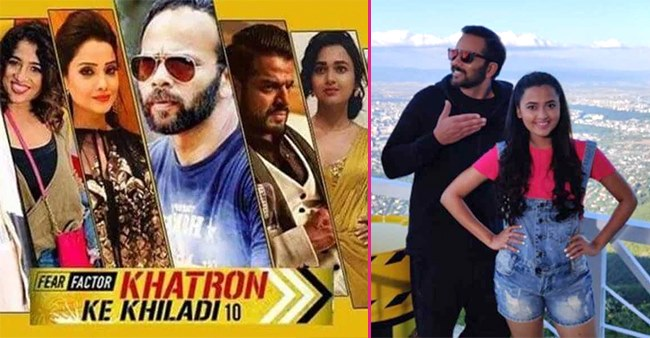 Rohit Shetty and other Khatron Ke Khiladi 10 contestants scare Tejasswi Prakash with a hilarious prank