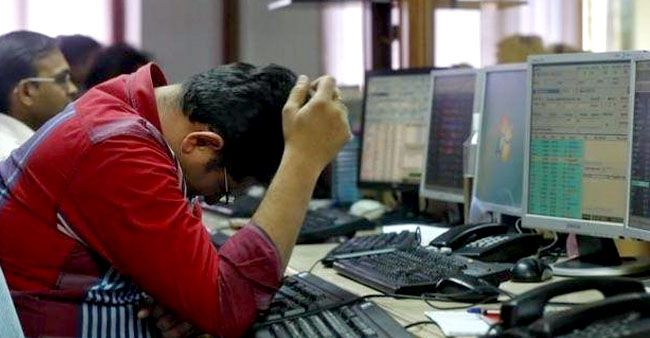 Sensex down by 450 points, PSU banks and Nifty trade with growth margin of 1%