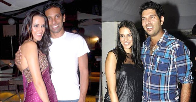 A list to unravel Neha Dhupia's love life that was social