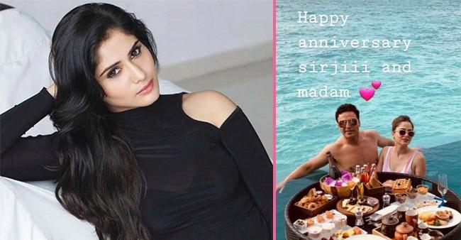 BB13's Arti Singh Wishes Ex-Beau Ayaz Khan On His 2nd Anniversary; Writes Love U Both