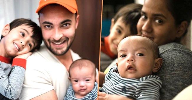 Aayush Sharma Shares Family Pics Proving Actor Is Taking Full Advantage Of Quarantine