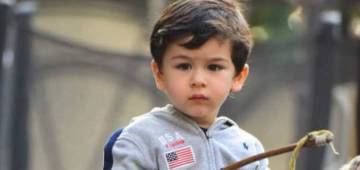 Taimur & Bebo Are Currently Growing Tomato Plants In Garden During Quarantine Time: Saif