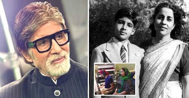 Singer Harshdeep Crooning To 'Taati Vaao Na Lagai' Made Big B Remember His Mom Teji Bachchan