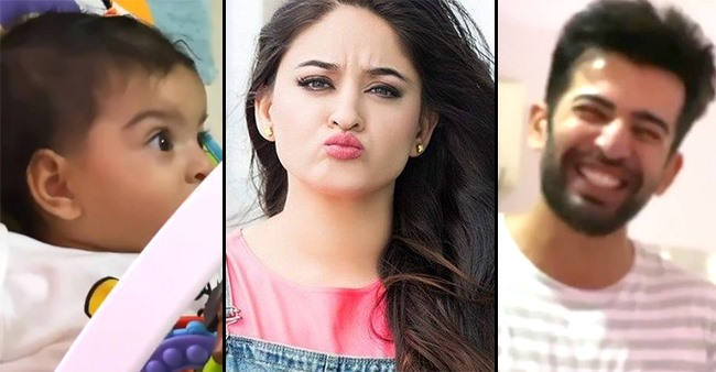 Mahhi Asks Daddy Jay To Clean Baby Tara's Potty; Actor Can't Control His Laugh