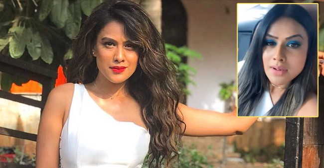 Nia Sharma Enjoys A Car Ride Amid Tough Times; Ravi Dubey Taunts Her
