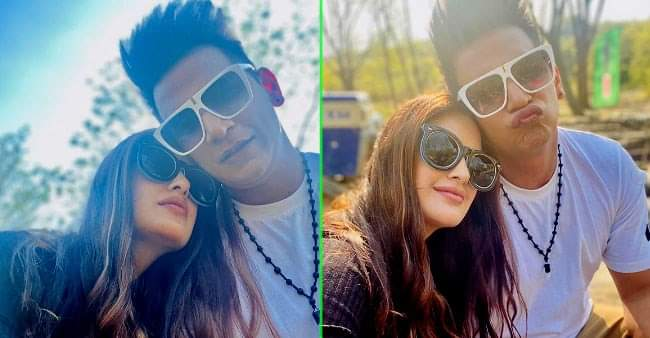 Yuvika Chaudhary and Prince Narula share pictures doing PDA: Internet goes 'Aww' for the caption