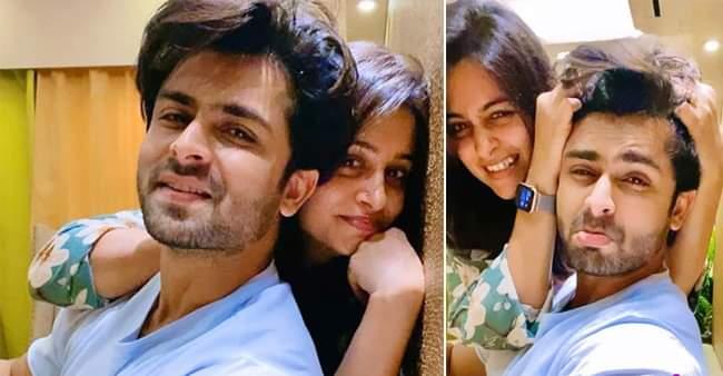 Tickling indoor pictures of actress Dipika Kakar and husband Shoaib Ibrahim