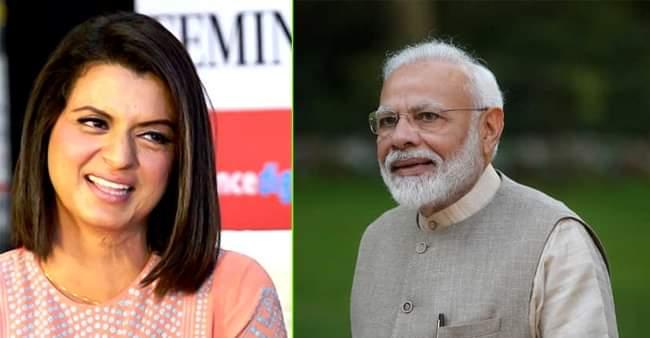 Rangoli Chandel wishes to take over PM Modi's social media account ...