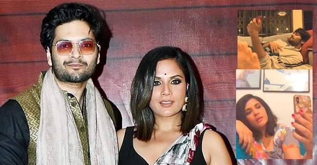 Richa Chadha and Ali Fazal's hilarious video call will surely make your day