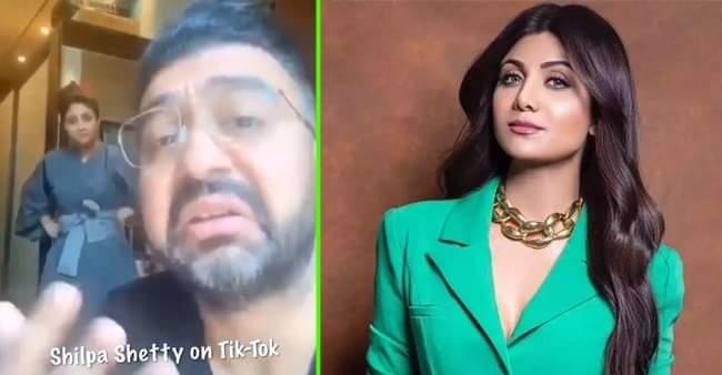Shilpa Shetty and Raj Kundra's funny TikTok video will surely make you laugh