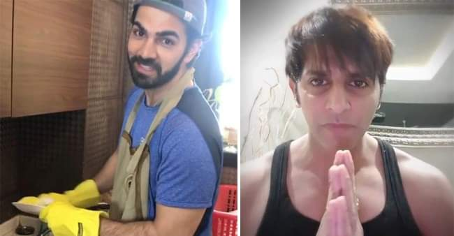 Karan V Grover keeps his house clean, Karanvir Bohra demands to revise the prices of necessary things