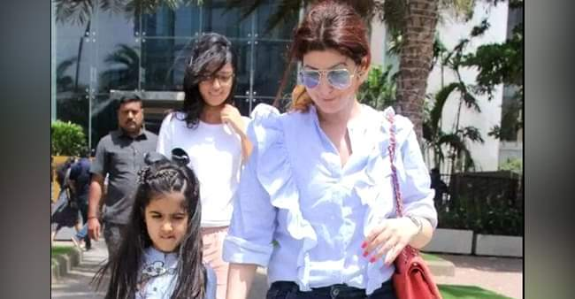 Twinkle Khanna is having some hard time for daughter since the lockdown