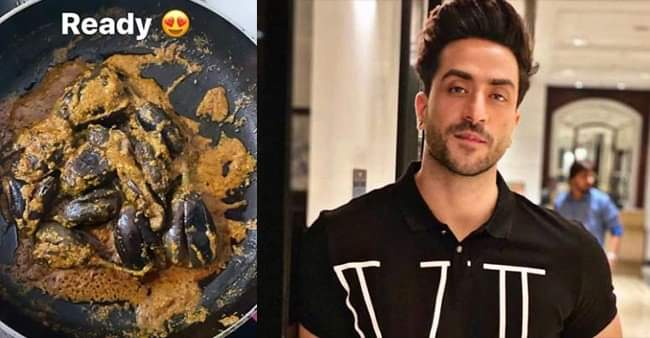 'Yeh Hai Mohabbatein' actor Aly Goni is trying his Mom's recipe in Kitchen