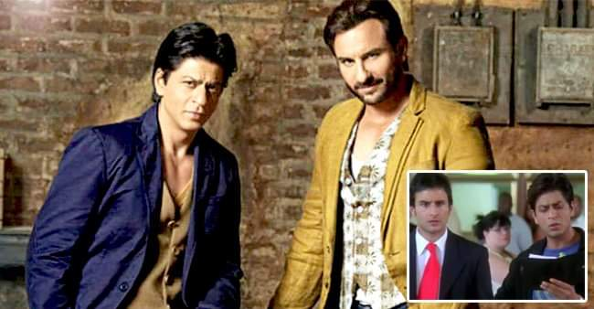 Saif Ali Khan was 'insecure' while working in 'Kal Ho Naa Ho' with Shahrukh Khan