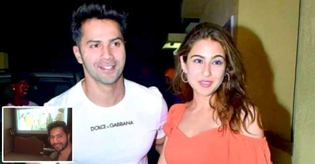 Coolie No. 1: Varun Dhawan shares a selfie on Instagram featuring Sara and Paresh Rawal