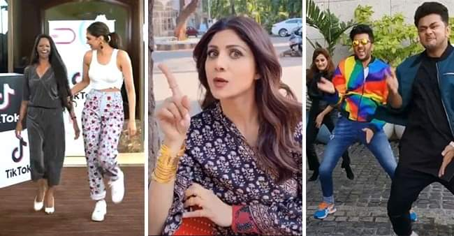 Bollywood celebrities like Shilpa Shetty, Kartik Aryan and many more, have joined TikTok