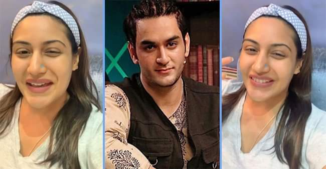 Video: Surbhi Chandna sings 'Woh Humsafar Tha' song; Vikas Gupta says it's my favourite!