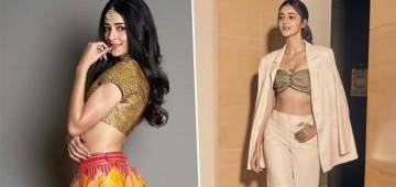 Ananya Panday looks lovely in every picture as she flaunts her photogenic body