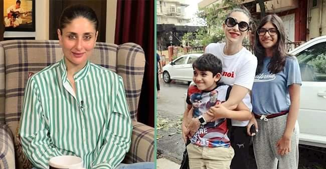 """""""Bebo is their favorite"""": Karisma Kapoor opens up on kids Samaira and Kiaan's favorite actress"""