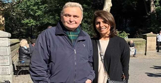 Neetu Kapoor and husband Rishi Kapoor came up with an idea to stay healthy and safe at home