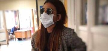 Radhika Apte visits hospital wearing a mask, fans get worried