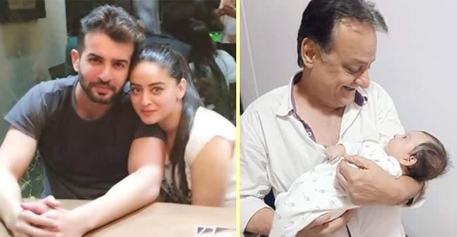 Jay Bhanushali-Mahhi Vij's daughter Tara looks adorable in maternal grandfather's arms, internet loves it
