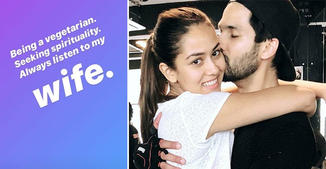 Being A Veggie, Seeking Spirituality & Listening To Wife Have Immensely Improved Shahid's Life