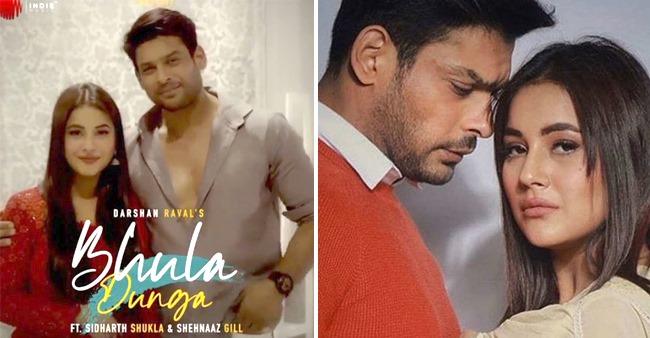 Sid & Shehnaaz's Bhula Dunga To Get Released Tomorrow; SidNaaz Invite Fans To Enjoy