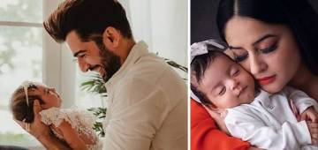 Jay Bhanushali's little angel gives him the best gift of his life, calls him papa for the first time