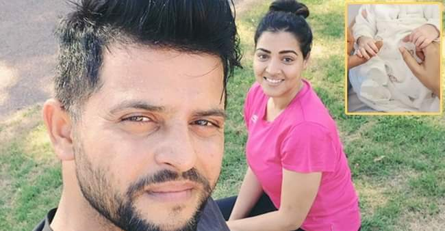 Suresh Raina's wife shares an adorable picture of her ...