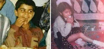 Childhood Pics Of Anushka & Virat Kohli Will Leave A Wide Smile On Your Face