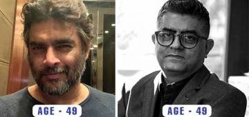 A few pairs of Bollywood celebrities that you'll probably find hard to believe that they are of the same age