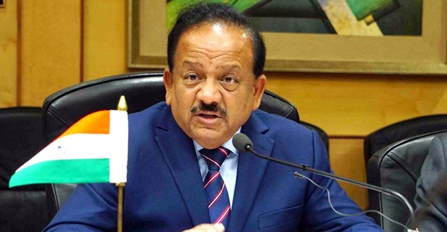 Health Minister Dr. Harsh Vardhan becomes chairman of WHO's 34-member executive board