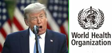 Trump ends relationship with WHO over the outbreak, announces a series of actions against China