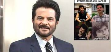 Rhea Shares A Funny Collage Of Dad Anil's Various Looks Over The Years; Captions 'Evolution Of Anil Kapoor'