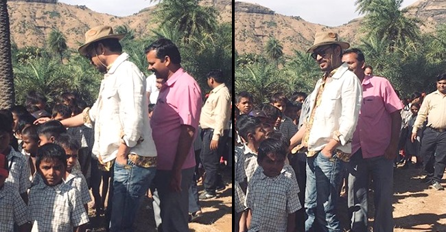 Babil Posts Unseen Throwback Pics Of Daddy Irrfan Having Fun Time With School Kids At Farmhouse