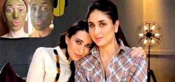 Kareena & Karisma's Cute Selfie With Facemasks & Pouts Will Drive Away Your Quarantine Blues