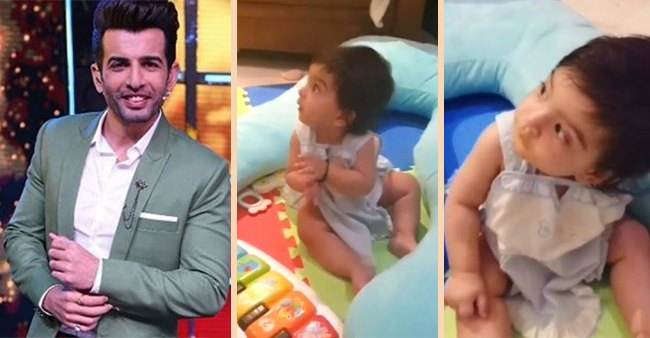Jay Bhanushali Posts Adorable Video Of Baby Tara Clapping For Him, Calls It 'Happiest Moment'