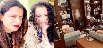 Kangana Ranaut Puts Final Touches On Sissy Rangoli's New House; Enjoy Inside Pics