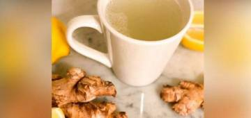 Detox your body with this amazing ginger lemon tea
