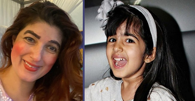 Twinkle Khanna Shared A Pic Of Herself After Daughter Nitara Gave A Makeover To Her With Fleek Brows