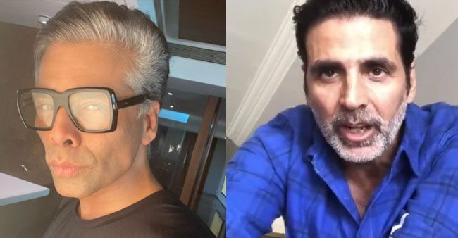 Karan Johar to Akshay Kumar: B-Town stars that carry salt and pepper look with confidence