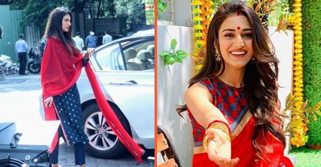 Erica Fernandes has resumed filming for Kasautii Zindagii Kay after three months